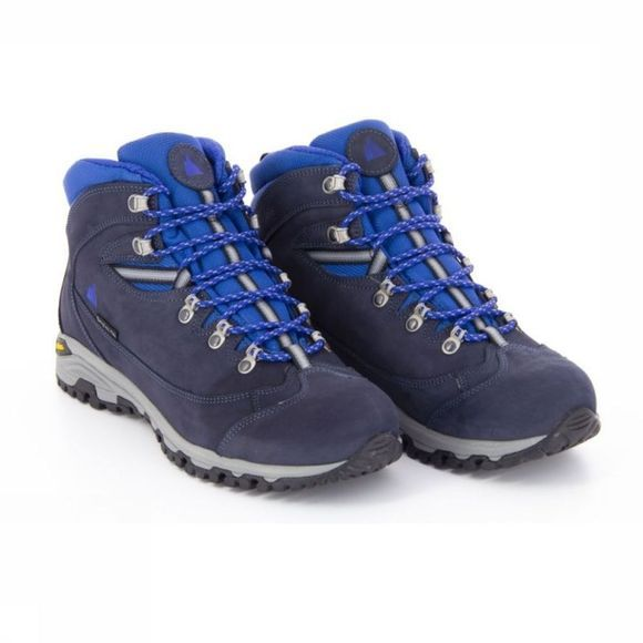 BERGHEN Shoe Morillon High Marine/Blue