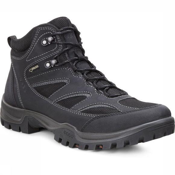 Chaussures Ecco Xpedition Trois Mi-tex Noir Gore Pour Les Femmes - Noir BCPNE4Qa