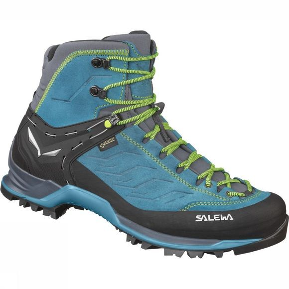 Salewa Shoe Mountain Trainer Mid Gore-Tex Turquoise/Lime