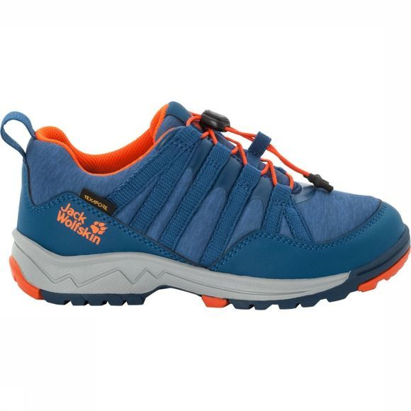 Jack Wolfskin Chaussure Thunderbolt Texapore Bleu/Orange