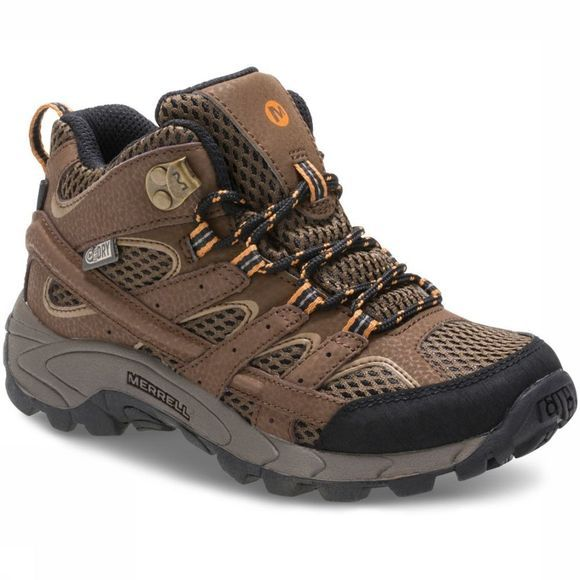 Merrell Chaussure Moab 2 Mid A/C WP Brun