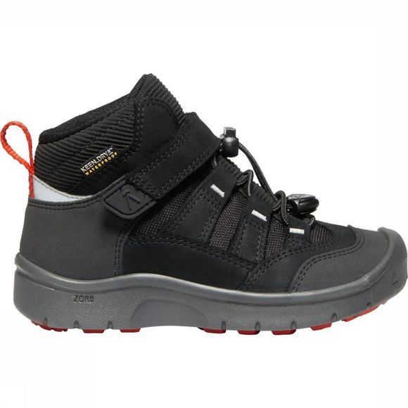 Keen Chaussure Hikeport Mid WP Junior Noir/Rouge