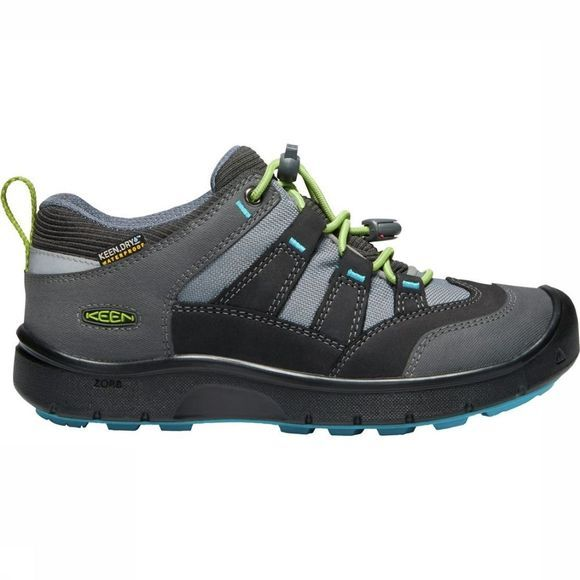 Keen Shoe Hikeport WP Youth dark grey/light green