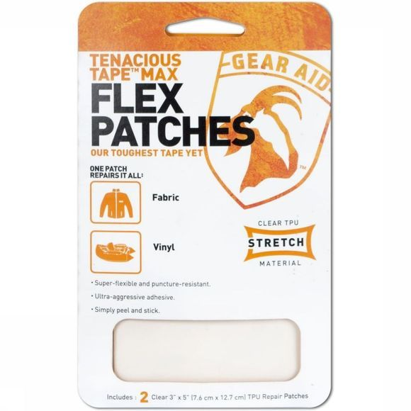 Gear Aid Maintenance Tenacious Max Flex Patches No Colour