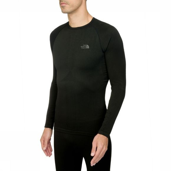 The North Face Top Hybrid Crew Neck Zwart