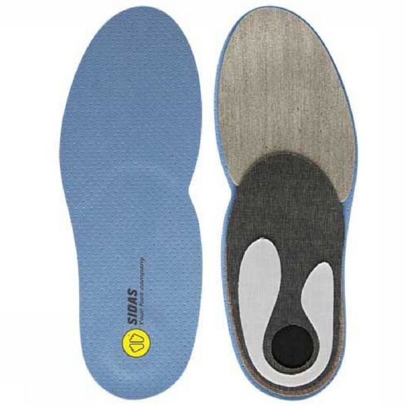 Sidas Inlegzool Custom Run Insoles Blauw