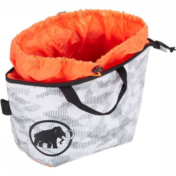 Mammut Sac à Magnésie Magic Boulder Blanc/Orange