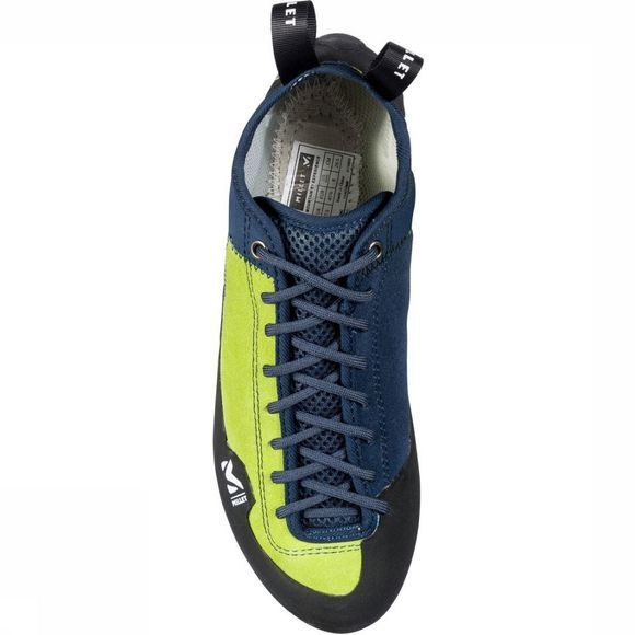 Millet Climbing Shoe Rock Up Dark Blue/Lime Green