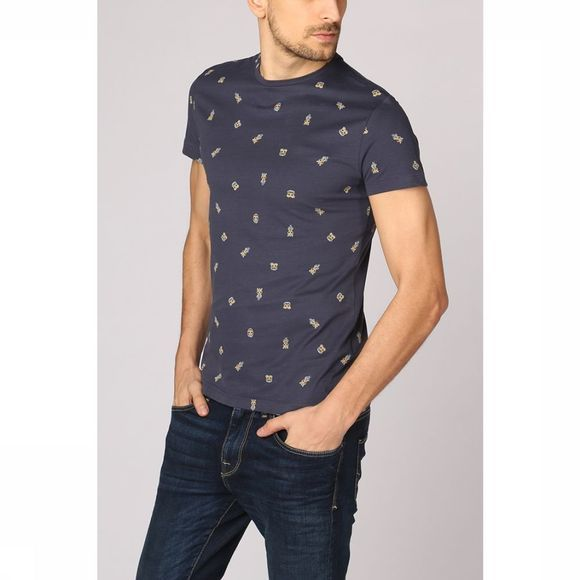 New In Town T-Shirt 8923048 dark blue/Assortment Geometric