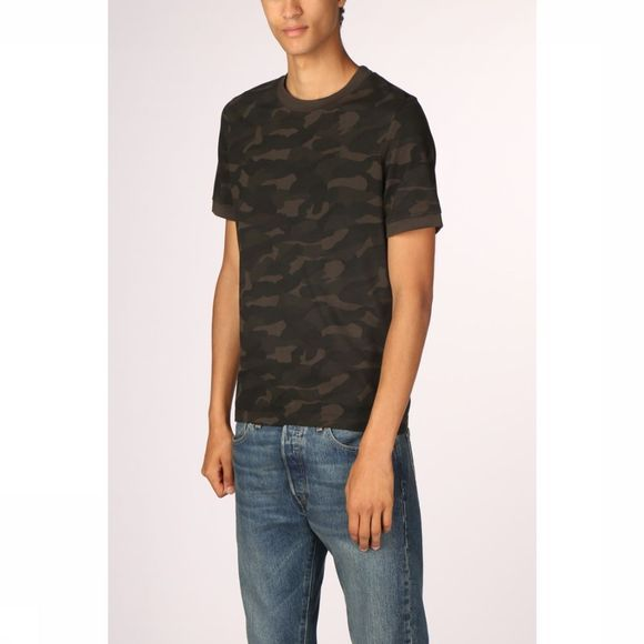 Camel Active T-Shirt 128027 mid khaki/Assortment Camouflage