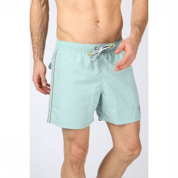 Marc O'Polo Zwemshort Solid Retro Swim Shorts Lichtgroen