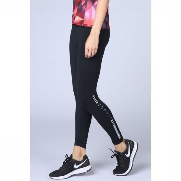 Esprit Legging Tight E-Dry Melange Zwart