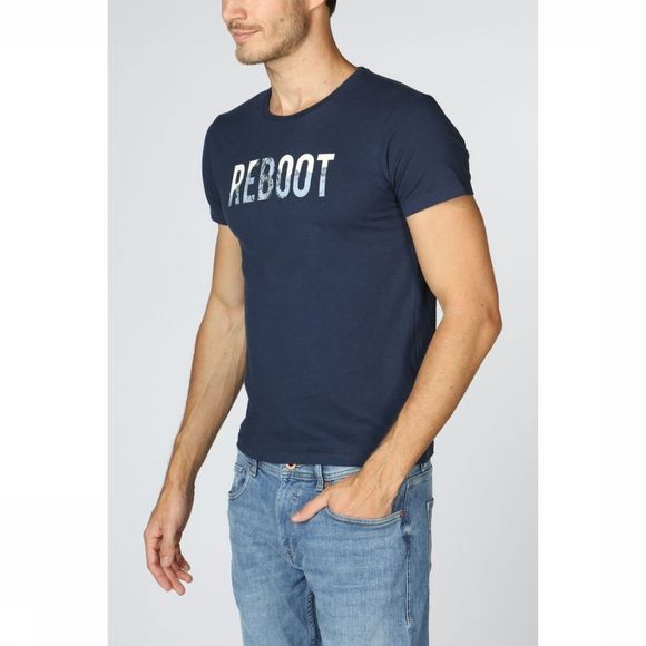 Esprit T-Shirt 128Cc2K004 dark blue