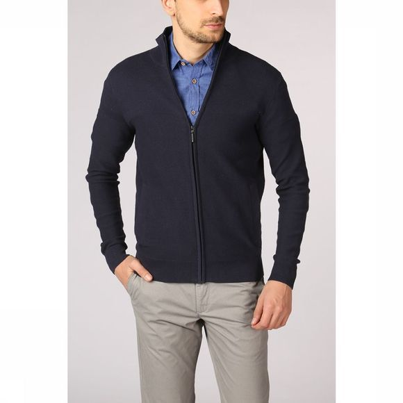 Tom Tailor Cardigan 1008903 dark blue