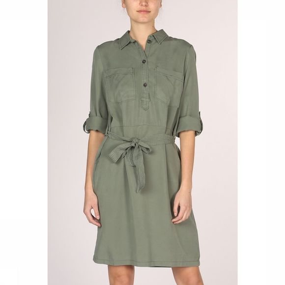 Tom Tailor Dress 1009828 mid khaki
