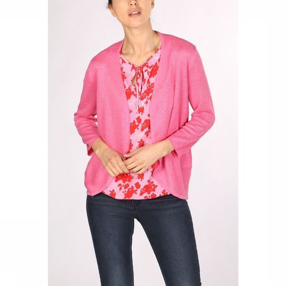 Tom Tailor Cardigan 1008421 Fuchsia