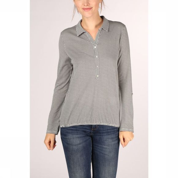 Tom Tailor Blouse 1012882 Noir/Blanc