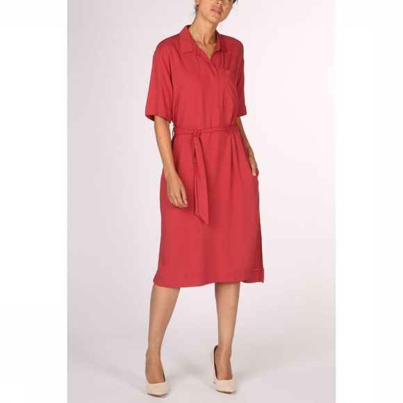 Esprit Dress 079Ee1E011 mid red