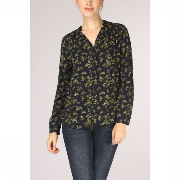 Tom Tailor Blouse 1015008 marine/Assortiment Fleur