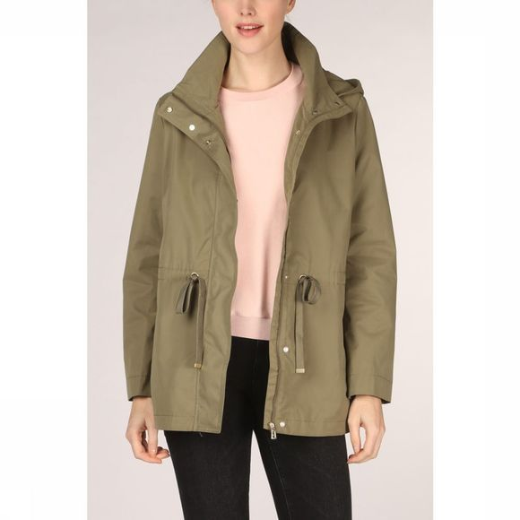 Tom Tailor Coat 1016751 mid khaki