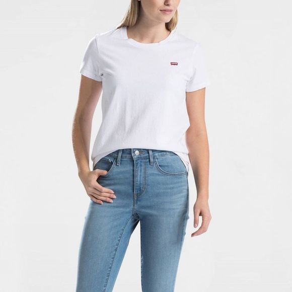 Levi's T-Shirt Perfect Tee Blanc