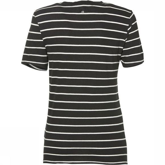 O'Neill T-Shirt Premium Striped Zwart/Wit
