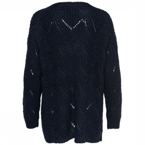 Only Cardigan Onlhavanna Ls Long Donkerblauw