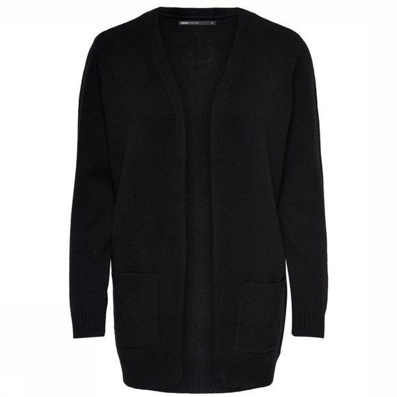 Only Cardigan Onllesly L/S Open Cardigan Knt Noir