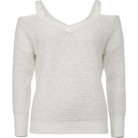 Yaya Trui Bare Shoulder Knit Wit
