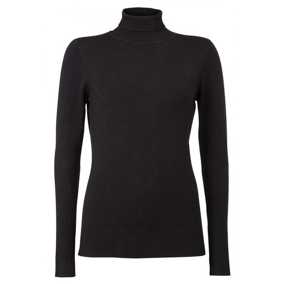 Trui Basic Sweater With Turtle Neck