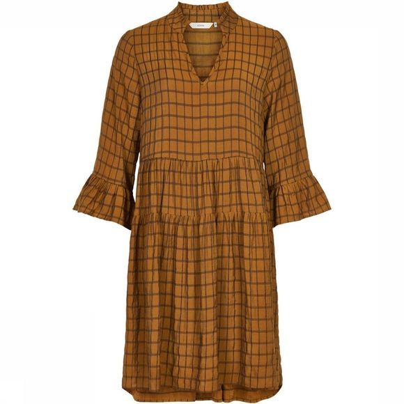Numph Dress beula Camel Brown