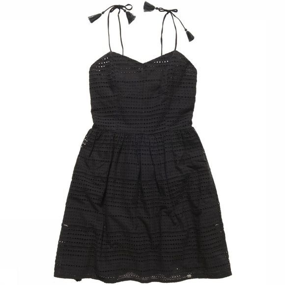 Superdry Dress Fifty Tassel Tie black