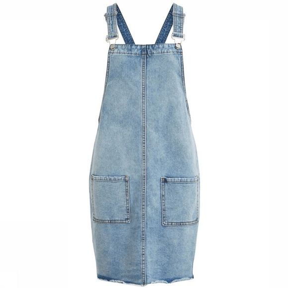 Object Jurk Objiris Denim Spencer Lichtblauw