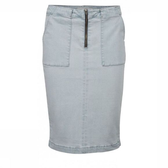 Yaya Skirt Denim Pencil light blue