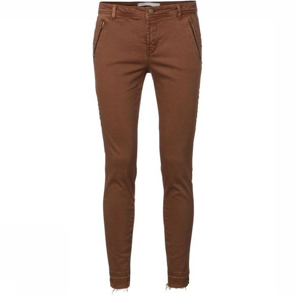 Broek Colored Twill W. Zippers