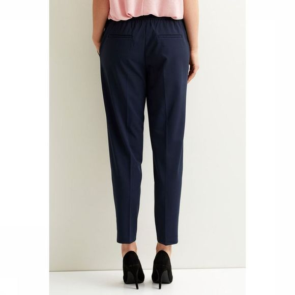 Object Trousers Cecilie Mw 7/8 dark blue