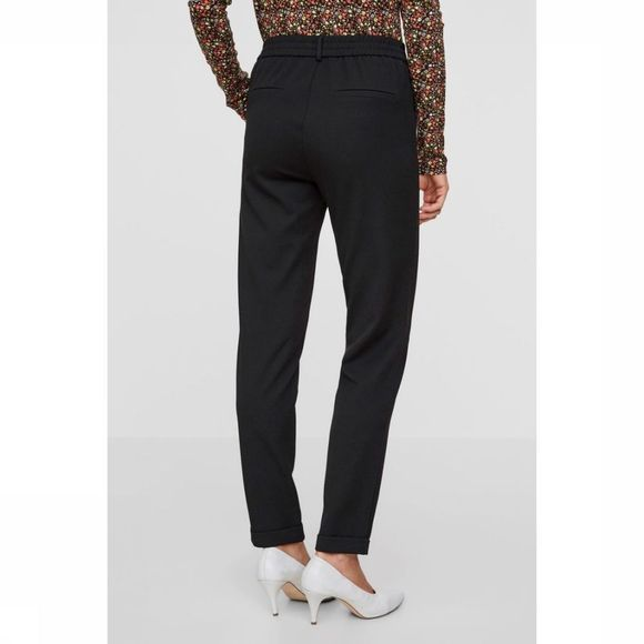 Vero Moda Pantalon maya Mr Loose Solid Noir