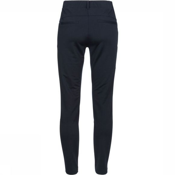 Yaya Broek Sweatpants With Seams Donkerblauw