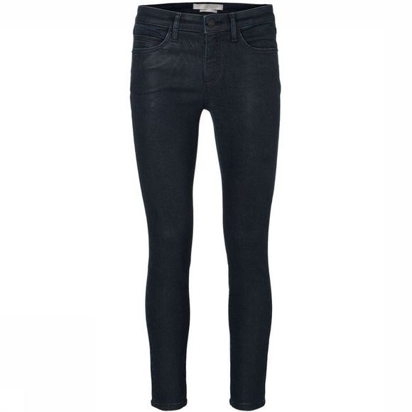 Jeans Coated Cropped Skinny