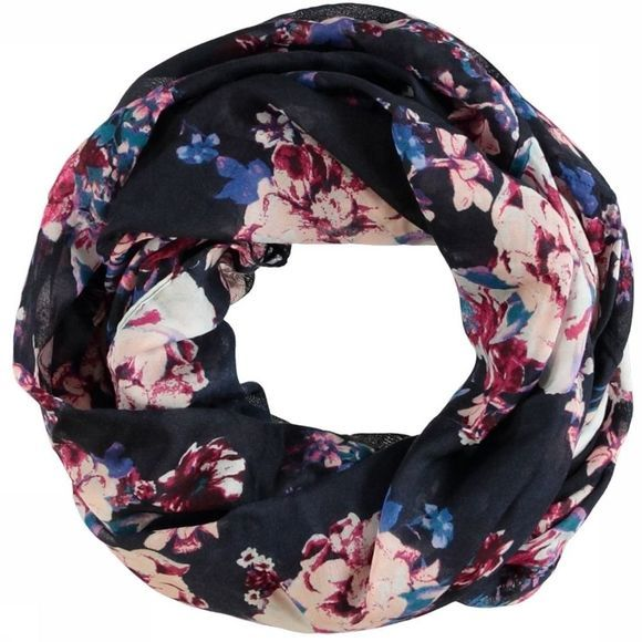 Pieces Scarf Pcdiane Tube dark blue/Fuchsia