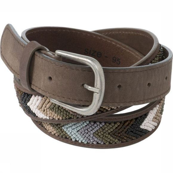 Riem Leather With Beads