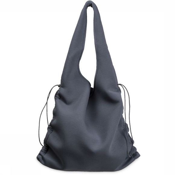 Yaya Tas Scuba Shopper Drawstrings Middenblauw