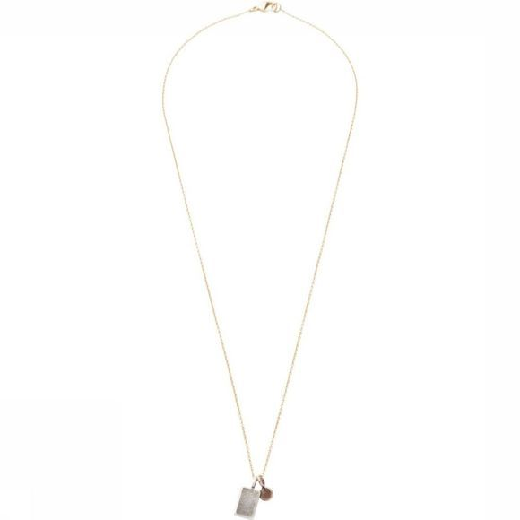 Yaya Ketting With Charms Goud