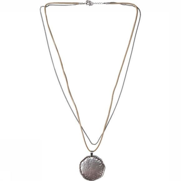 Yaya Ketting Long With Coin Zilver