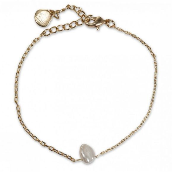Yaya Armband Pearl And Shell Goud