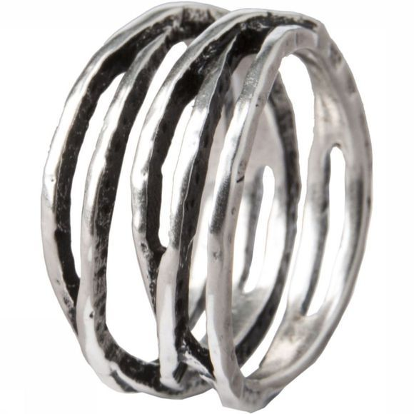 Yaya Ring Brass Loop SILVER