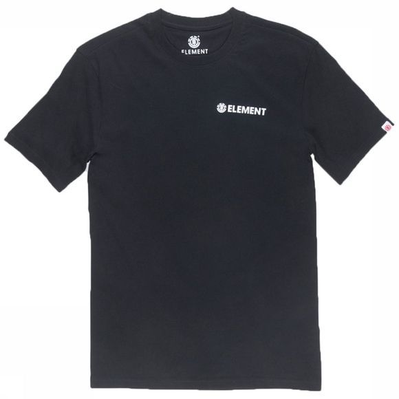 Element T-Shirt Blazin Chest Zwart