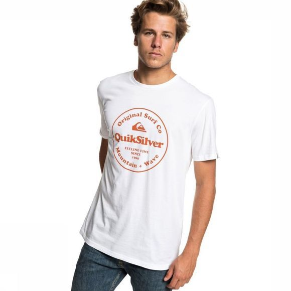 Quiksilver T-Shirt Scrtingredienss Wit