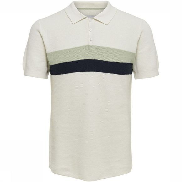 Only&Sons Polo Striped Wit/Assortiment