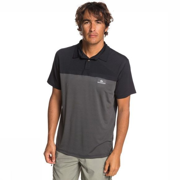 Quiksilver Polo Paddlerunnerpol black/dark grey
